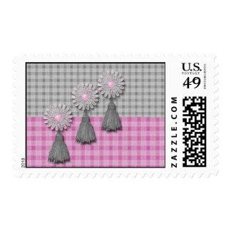 Daisy Tassel Matching Set Stamps