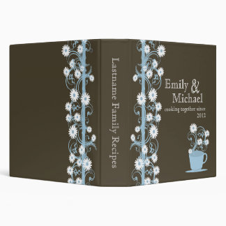 Daisy Tea Party Recipe Collection Binders