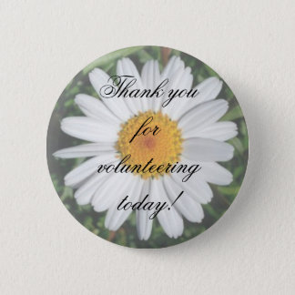 Daisy Thank you for volunteering today! Button