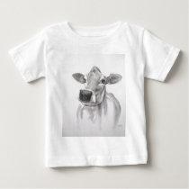 Daisy The Cow Baby Tee Shirt
