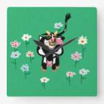 Daisy the cow clock