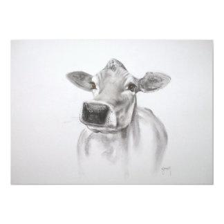 Daisy The Cow Invitation