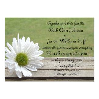 Daisy Theme Personalized Invites