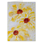 """""""Daisy Trio"""" by Chris Rice Note Cards"""
