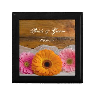 Daisy Trio Country Wedding Gift Box