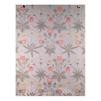 Daisy' wallpaper design postcard