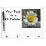 Daisy Weathered Flower Dry-Erase Board