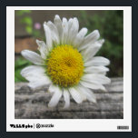 """Daisy Weathered Flower Wall Decal<br><div class=""""desc"""">This shot was captured by my Aunt!  Thanks for stopping by the garden!  Feel free to customize this to meet your needs.  Have a wonderful day!</div>"""