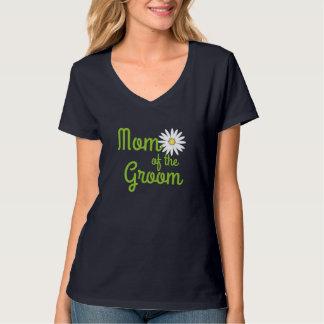 Daisy Wedding Mom of Groom T-Shirt