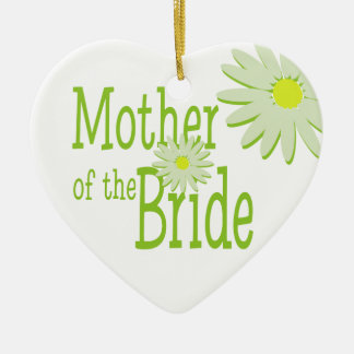 Daisy Wedding/ Mother of the Bride Christmas Tree Ornaments