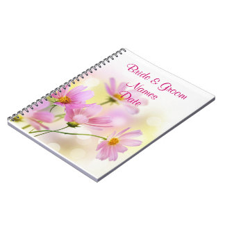 Daisy Wedding or Shower Guestbook Notebook