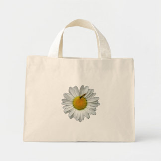 Daisy With A Small Bee Tote Bag