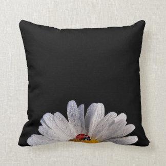 Daisy with Ladybug Throw Pillows