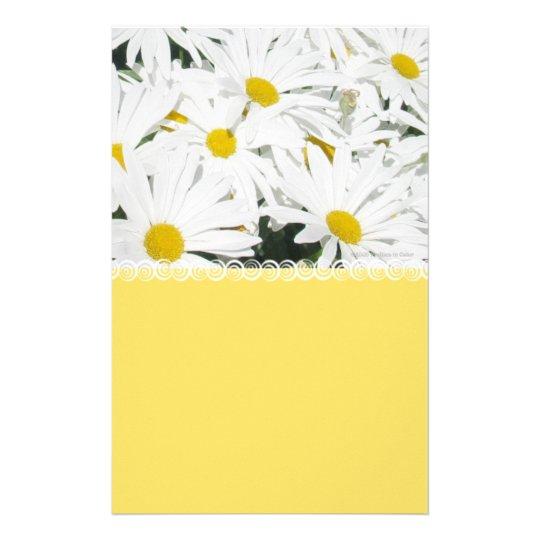 Daisy Yellow Stationery