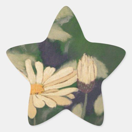 Daisys Calcomanías Forma De Estrellaes