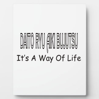 Daito Ryu Aiki Bujutsu It's A Way Of Life Photo Plaques
