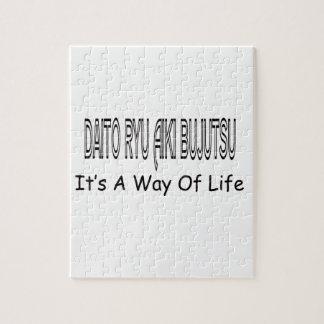 Daito Ryu Aiki Bujutsu It's A Way Of Life Jigsaw Puzzle