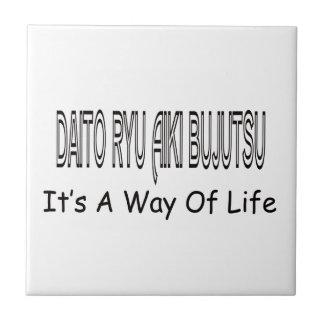 Daito Ryu Aiki Bujutsu It's A Way Of Life Ceramic Tiles