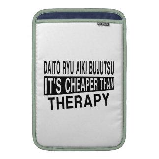 DAITO RYU AIKI BUJUTSU IT'S CHEAPER THAN THERAPY MacBook SLEEVES