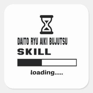 Daito Ryu Aiki Bujutsu skill Loading...... Square Sticker