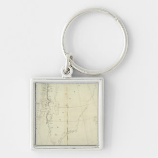 Daivs Straits and Baffin Islands Bay Key Chains