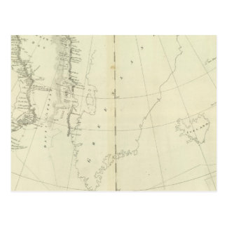 Daivs Straits and Baffin Islands Bay Postcard