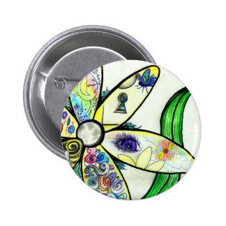 dAiZy! Artwork Pinback Button