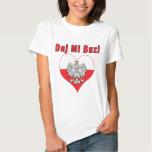Daj Mi Buzi Eagle Heart Tshirt