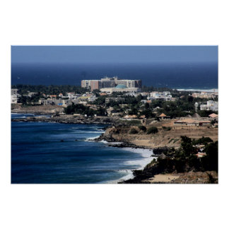 Dakar,Senegal African West Coast  Canvas Poster