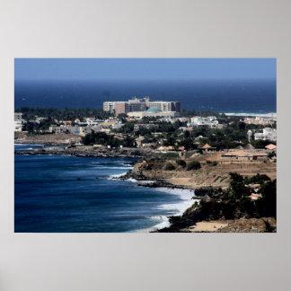 Dakar,Senegal African West Coast  Canvas Print