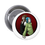 Dake and Tommy 2 Inch Round Button