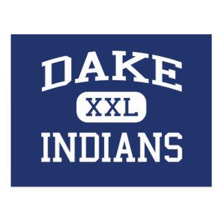 Dake - Indians - Junior - Rochester New York Postcard