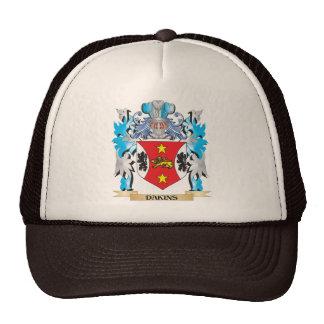 Dakins Coat of Arms - Family Crest Trucker Hats