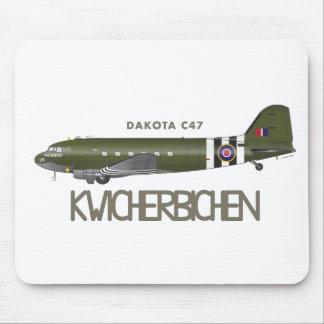 DAKOTA C47 SKYTRAIN - KWICHERBICHEN MOUSE PAD