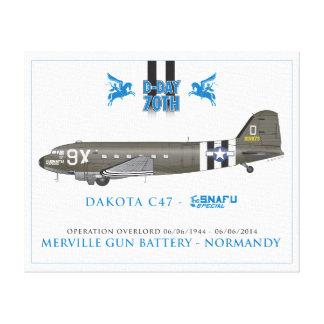 DAKOTA C47 SKYTRAIN - THE SNAFU SPECIAL CANVAS PRINT