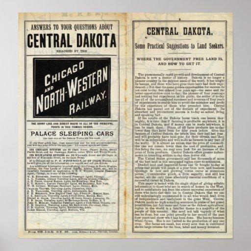 Dakota central poster
