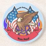 Dakota del Norte 2012 para Ron Paul Posavasos Personalizados