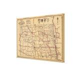 Dakota del Norte 2 Lona Envuelta Para Galerias
