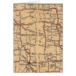 Dakota del Norte 2 Tarjeta De Felicitación