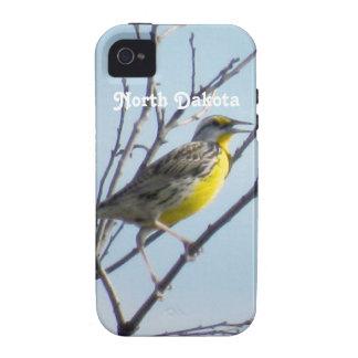 Dakota del Norte Vibe iPhone 4 Carcasas