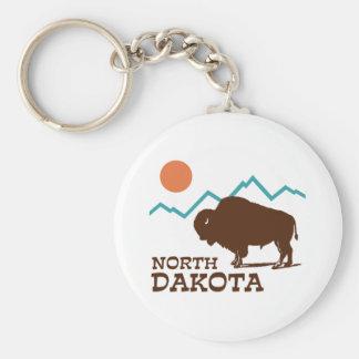 Dakota del Norte Llaveros Personalizados