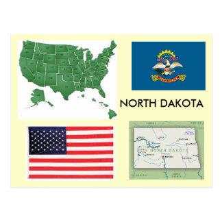 Dakota del Norte, los E.E.U.U. Postal