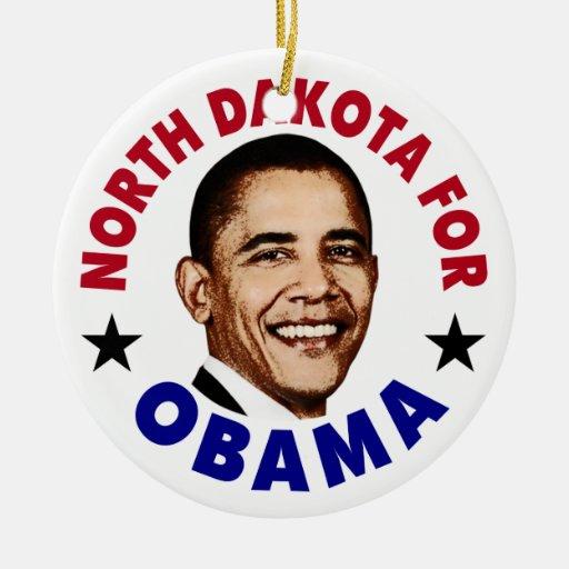 Dakota del Norte para Obama Adorno