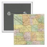 Dakota del Norte Pin Cuadrada 5 Cm
