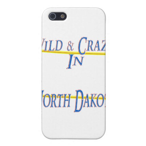 Dakota del Norte - salvaje y loco iPhone 5 Carcasa