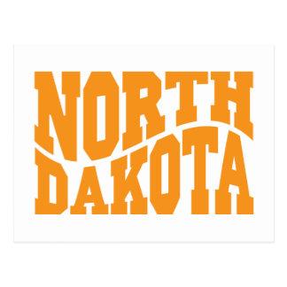 Dakota del Norte Tarjeta Postal
