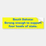 Dakota del Sur: Bastante fuerte al supportfour dir Etiqueta De Parachoque