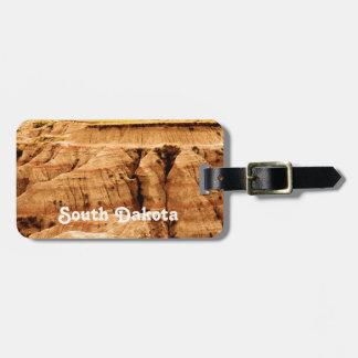 Dakota del Sur Etiquetas De Equipaje