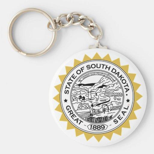 Dakota del Sur Llavero Personalizado