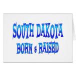 Dakota del Sur llevado y aumentado Felicitaciones